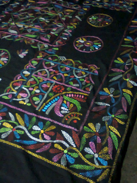 Hand Stitch & Applique Bed Cover 4