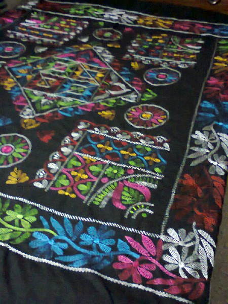 Hand Stitch & Applique Bed Cover 5