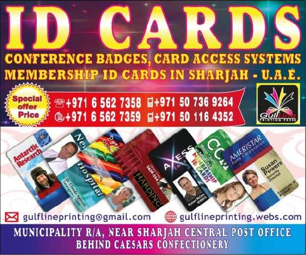 Student Id, Aluminum Tags, School Badges, Card Access Id, Staff Id Cards Printing In Sharjah Uae