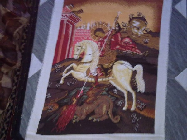"Tapestry  ""saint George"" 2"