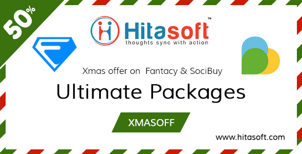 Exciting 50% Xmas Offer On Best Ecommerce Script