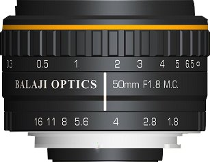 Balaji Optics | 50 Mm F-mount Lenses | 35 Mm F Mount Lens |  Germany