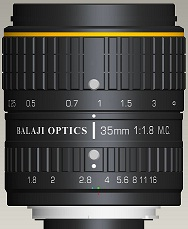 Balaji Optics | Large Format F-mount Lenses | Machine Vision | Germany