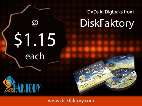 Top quality DVD duplication service at its best by DiskFaktory in USA.